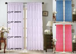 <b>1 PC</b> Country Voile Pull Up Curtain with Rose <b>Embroidery</b> Ruffle ...