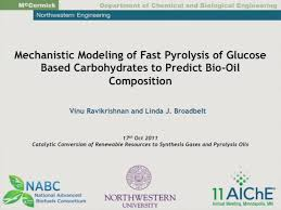 mechanistic modeling of fast pyrolysis of cellulose to predict bio mechanistic modeling of fast pyrolysis of cellulose to predict bio oil composition