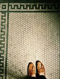 Hexagon Tile Floor Patterns Vintage Hex Tile Flooring Pinterest White Tiles