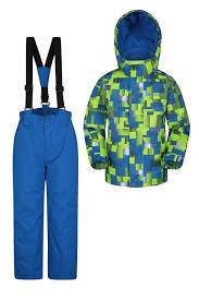 <b>Kids Ski Jacket</b> and <b>Pant</b> Set | Mountain Warehouse US