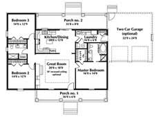 Awesome Single Story House Plans   Ranch House Plan First Floor        Awesome Single Story House Plans   Ranch House Plan First Floor d House Plans