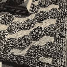 Large Crocheted Loop Stitch Area Rug Pattern