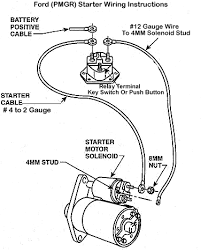 wiring diagrams ford starter solenoid the wiring diagram wiring diagram for a starter solenoid wiring image about wiring diagram