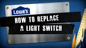 How to Replace a <b>Light Switch</b> - YouTube