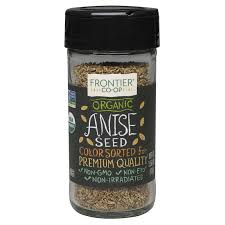 Frontier <b>Organic Whole Anise Seed</b> 1.50 oz. - Frontier Co-op