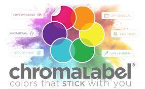 ChromaLabel Round Permanent <b>Kraft</b> Dot <b>Stickers</b>, 500/Roll, <b>1 inch</b>