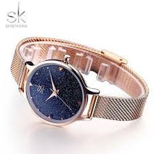 <b>Shengke SK Luxury Brand</b> Fashion quartz womem watches Starry ...