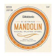 Mandolin Family   <b>Stainless Steel</b> / Nickel Wound   D'Addario