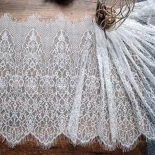 3Y/ lot Eyelash Lace Fabric 30cm DIY Decorative <b>High Quality</b> Soft ...