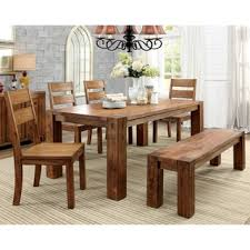 farmhouse style dining table pictures furniture of america clarks farmhouse style dining table