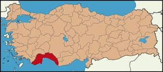 Image result for antalya haritası