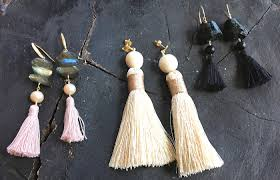 Jewelry Trend Forecast <b>2019</b>: <b>Tassel Earrings</b> - Beadworks Fairfield