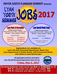 lynn youth summer jobs for lynn happens all programs are subject to funding all programs are subject to lottery lynn summer jobs