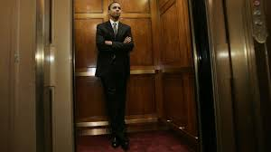 ibm watson and kone made elevators that can have conversations and barack obama d ill stands in an elevator on capitol