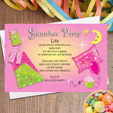 personalised pyjama sleep over party invitations n the 10 personalised pyjama sleep over party invitations n45 the personalised party co