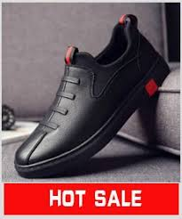 NEW Brand High quality all Black <b>Men's</b> leather <b>casual shoes</b> ...