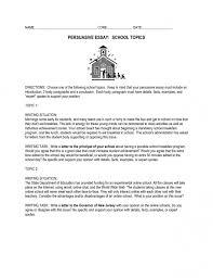 how to write a persuasive essay high school  essay