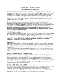 cover letter sample police officer police officer cover letter police officer cover letter examples police officer cover letter inside cover letter for police officer