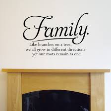 wall decal family art bedroom decor wall sticker art sayings images