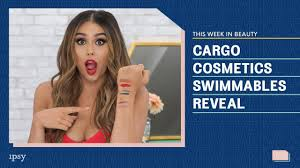 NEW <b>Cargo Cosmetics Swimmables</b> Reveal + Waterproof Test | This ...