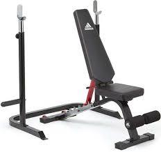 Силовая <b>скамья Adidas</b>, <b>тренировочная</b> с рамой для приседаний ...