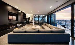 best modern living room designs:  coppin penthouse living room