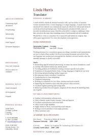 translator cv volunteer cv social worker resume template