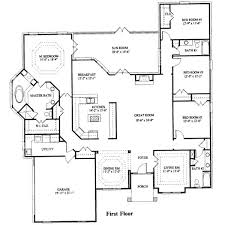 Types house plans bedroom square feet  bedrooms  batrooms  parking space  on