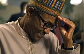 Image result for buhari sad photo
