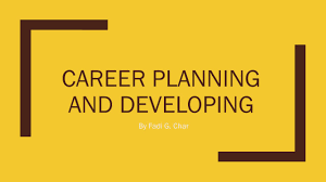 career planning developing and improving smart successful career planning developing and improving smart successful career