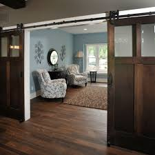 blue sliding barn door home office rustic with blue and brown white wood blue brown home office