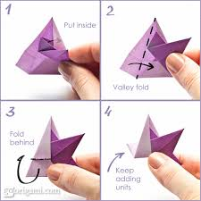 how to make an origami star steps  origami star diagram    how to make an origami star steps