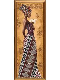 """<b>Набор для вышивания</b> бисером """"Африканка с лилией"""" <b>NOVA</b> ..."""