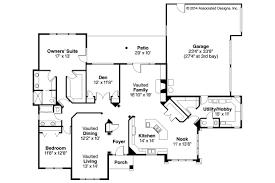 Southwest House Plans   Mesilla     Associated DesignsSouthwestern House Plan   Mesilla     Floor Plan