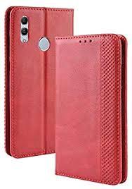 Mobile Phone Leather Cases Magnetic Buckle Retro ... - Amazon.com