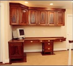 custom built in office desk traditional family room built office desk