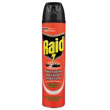 Купить Средство от <b>насекомых</b> 300 мл, <b>RAID</b> (Рейд), <b>аэрозоль</b> ...