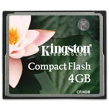 <b>Карта памяти</b> CompactFlash Kingston CF/<b>4GB</b> - характеристики ...