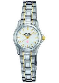 Наручные <b>часы Swiss military</b> с биколорным браслетом ...