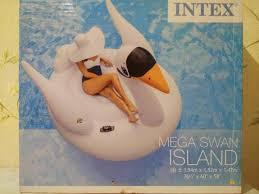 Большой <b>надувной лебедь</b> – купить в Москве, цена 1 900 руб ...