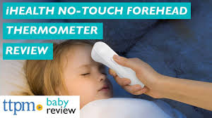 <b>PT3 Infrared</b> No-Touch <b>Forehead</b> Thermometer Review from iHealth ...