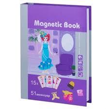 <b>Развивающая игра Magnetic Book</b> Кокетка (TAV026) - купить в ...