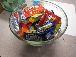 Image result for candy bowl on desk