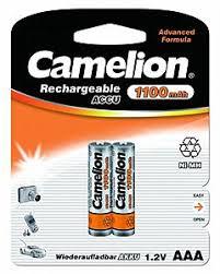 Аккумулятор AAA Camelion (R03) 1100 mAh NiMh (2 ... - BookPRO