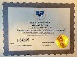 international association of canine professionals michigan dog michael burkey international association of canine professionals