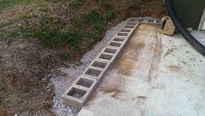 Small Picture cinder block retaining wall diy Cinder Block Retaining Wall