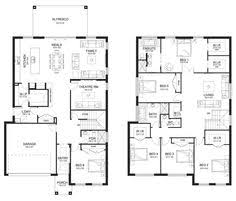 ideas about Double Storey House Plans on Pinterest   Two    Aria   Double Level   Floorplan by Kurmond Homes   New Home Builders Sydney NSW