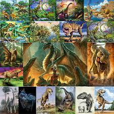 <b>Dinosaur Full</b> Drill 5D DIY Animals <b>Diamond</b> Painting <b>Embroidery</b> ...