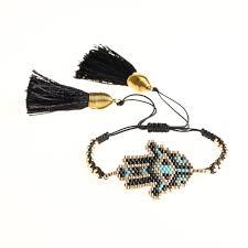 Go2boho <b>Turkish</b> Evil Eye Bracelet <b>MIYUKI Beads</b> Bracelet Fatima ...