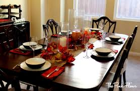 For Decorating Dining Room Table Wonderful Dinner Party Table Decoration Ideas With Cutlery Set